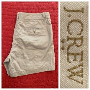 J. Crew Gray Chino 100% Cotton Broken-In 10